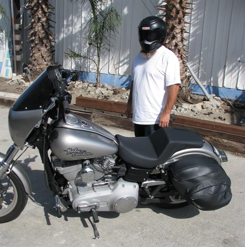 Soto Custom Saddlemen Dyna Seat Tech