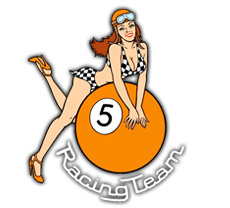 5 Ball Racing Team - Leather Apparel & Books